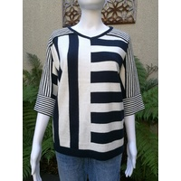 See Saw 2 Way Stripe Top